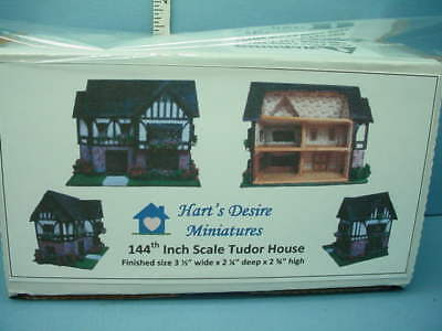 Miniatture Tudor Style House Kit #683-1/144th DH for Your  DH Harts Desire Mini
