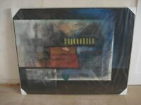 Large Modern Oil Painting,