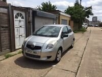 Toyota Yaris 1.0 ltr, 2007, low mileage, 60 mpg, well maintained powerful engine, long mot
