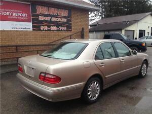 2001 Mercedes-Benz E-Class E320**LEATHER****SUNROOF***ONLY 154KM London Ontario image 2