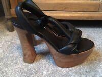 CHLOE platform sandals UK 4/5