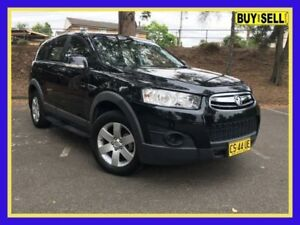2011 Holden Captiva CG Series II 7 SX Black Sports Automatic Wagon Lansvale Liverpool Area Preview