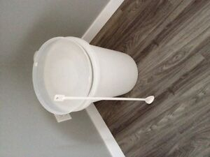 For Sale:  Wine mixing pail and spoon