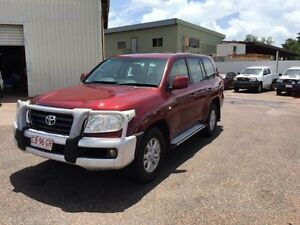 2009 Toyota Landcruiser VDJ200R 09 Upgrade GXL (4x4) Red 6 Speed Automatic Wagon Holtze Litchfield Area Preview