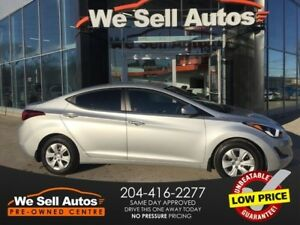 2016 Hyundai Elantra SE *PWR LOCKS *AUX *LOW KM *ECO MODE