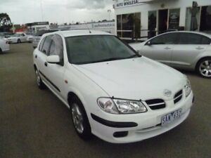 2002 Nissan Pulsar N16 ST White 4 Speed Automatic Hatchback Cheltenham Kingston Area Preview