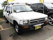 1994 Toyota Hilux RN85R DX Utility Dual Cab 4dr Man 5sp, 4x2 1000kg White Manual Utility Minchinbury Blacktown Area Preview
