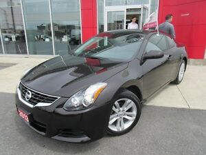 2013 NISSAN ALTIMA 2.5 S COUPE PREMIUM PKG LEATHER SUNROOF CAMER