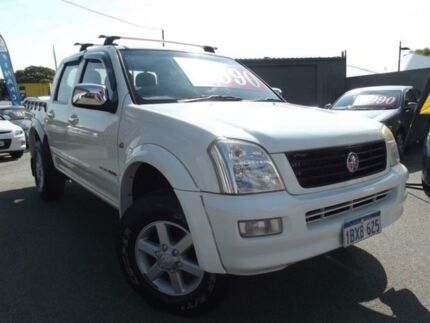 2005 Holden Rodeo LT White Automatic Utility East Victoria Park Victoria Park Area Preview