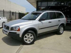 2006 Volvo XC90 MY06 Lifestyle Edition (LE) Silver Essence 5 Speed Auto Geartronic Wagon Seaford Frankston Area Preview