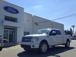 2011 Ford F-150 Platinum with Leather, Heated/AC Seats and Navig