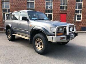1996 Toyota Landcruiser HZJ80R GXL Grey Manual Wagon Hamilton North Newcastle Area Preview