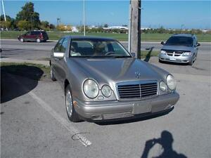1999 Mercedes-Benz E Class RUNS AND DRIVES AS-IS AS-TRADED