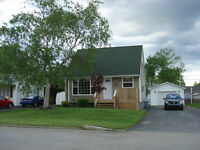 House with detached garage for sale in desired area of Gander