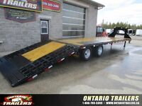 2015 Big Tex Trailers 22GN-35 FT HYDRAULIC DOVETAIL