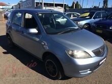 2004 Mazda 2 DY Neo Blue 5 Speed Manual Hatchback Lansvale Liverpool Area Preview