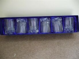 St Andrews whisky tumblers x6