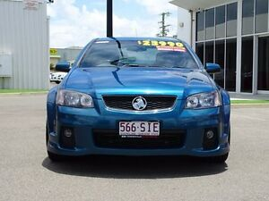 2012 Holden Commodore VE II MY12.5 SV6 Blue 6 Speed Manual Sedan Garbutt Townsville City Preview