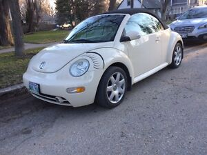 2003 Volkswagen Beetle Convertible with safety