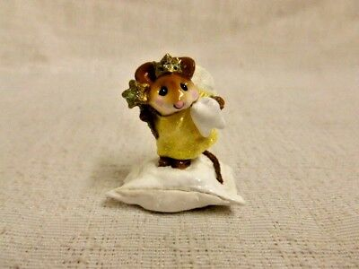 Wee Forest Folk Tooth Fairy Special Edition M-148 Yellow Mouse Retired