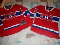 *** BRAND NEW - MONTREAL CANADIENS - YOUTH / LADIES  - $60ea.
