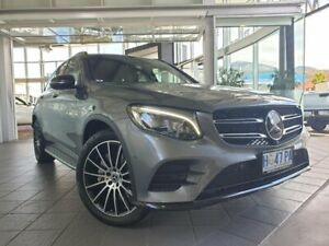 2018 Mercedes-Benz GLC-Class X253 808MY GLC250 d 9G-Tronic 4MATIC Grey 9 Speed Sports Automatic North Hobart Hobart City Preview