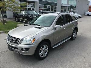 2008 MERCEDES BENZ ML320 CDI*NAVI*CAM*MOON*4MATIC*NO ACCIDENTS