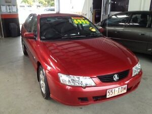 2003 Holden Commodore VY Acclaim Red 4 Speed Automatic Sedan Bungalow Cairns City Preview