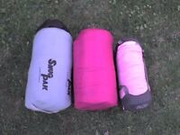 2 Adult Sleeping Bags + a FREE Smaller one - Heathrow