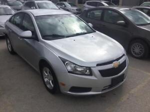 2012 Chevrolet Cruze LT Turbo+ w/1SB Bluetooth! Remote Start!