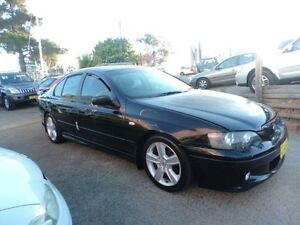2004 Ford Falcon BA MkII XR6 Black 4 Speed Auto Seq Sportshift Sedan North St Marys Penrith Area Preview