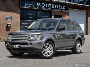 2007 Land Rover Range Rover Sport HSE *Accident Free, Certified*