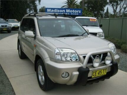 2003 Nissan X-Trail T30 TI (4x4) Gold 5 Speed Manual Wagon Tuncurry Great Lakes Area Preview