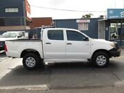 2007 Toyota Hilux KUN26R 07 Upgrade SR (4x4) White 5 Speed Manual Dual Cab Pickup Condell Park Bankstown Area Preview
