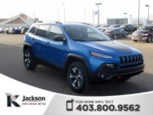 2018 Jeep Cherokee Trailhawk Leather Plus - Save $5000