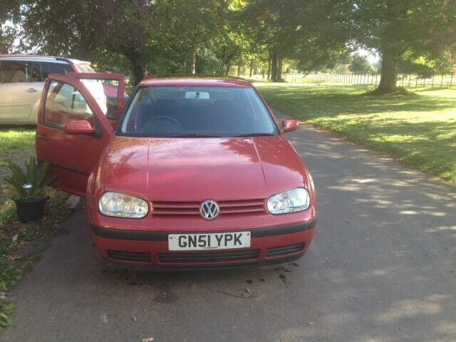 2002 Golf S-1 year MOT SOLD