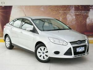 2012 Ford Focus LW MkII Ambiente PwrShift Silver 6 Speed Sports Automatic Dual Clutch Sedan Collingwood Yarra Area Preview