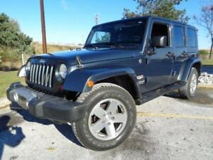 2008 Jeep Wrangler SAHARA, POWER GROUP**HARD TOP & SOFT TOP**