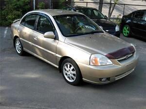 2003 Kia Rio Automatique, démareur a distance, seulement 1195$