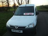 Vauxhall Combo FSH Side Door NO VAT Looks and Drives Superb Bennett Van Sales