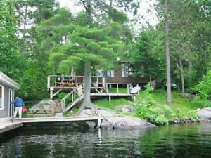 Beautiful Family Cottage 2 CANOES, KAYAK MOTOR BT OPTN