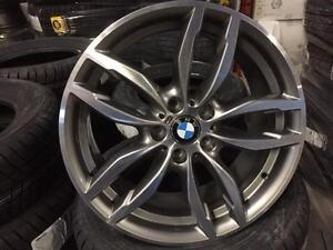 "OEM BMW wheels 19"" x 8.5"" takeoff from brand new cars"