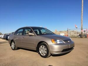 2002 Honda Civic LX -COMES W/WINTER TIRES! LOW KMs!
