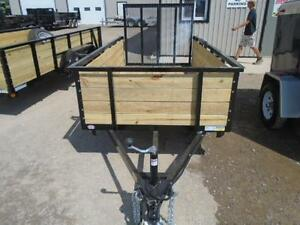 HIGH SIDED UTILITY TRAILER W/MORE FEATURES 5X10 BED SIZE London Ontario image 3