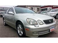 2000 Lexus GS 400  LEATHER, 300hp !!  S-ROOF, 3yrs Warranty