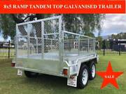 8x5 RAMP TANDEM GALVANISED TRAILER, ATM 2000KG, Inc GST Abbotsford Yarra Area Preview