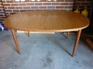 Vintage 70 Dining Table & Chairs Narellan Vale Camden Area Preview