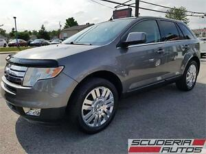 Ford Edge Limited 2010, AWD, Bas Km, GPS, Toit, Cuir, Impeccable