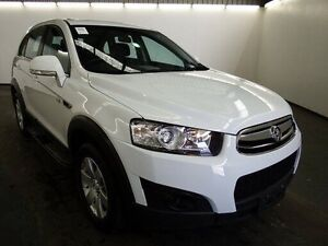 2012 Holden Captiva CG MY12 7 SX (FWD) White 6 Speed Automatic Wagon Albion Brimbank Area Preview