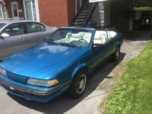 pontiac sunbird antique 1991 convertible